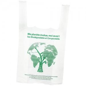sac bretelle biodégradable