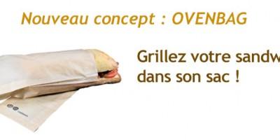ovenbag sac sandwich pour grill
